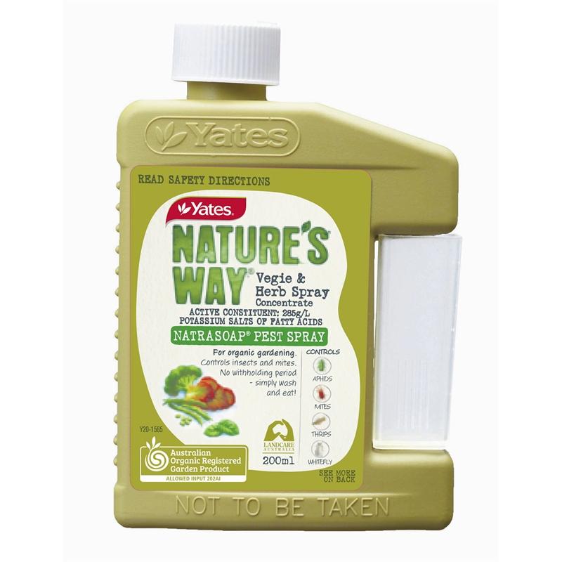 Natrasoap 'Organic' Insecticidal Soap  200ml