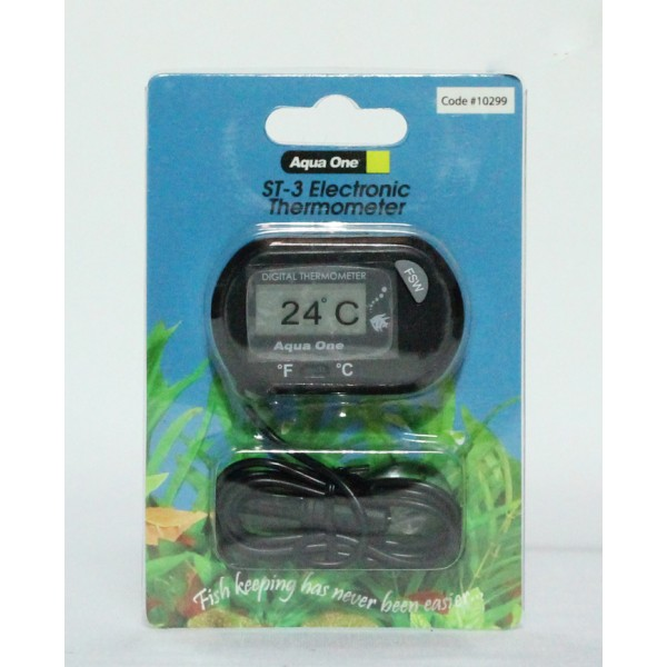 Aqua One ST-3 Electronic Thermometer