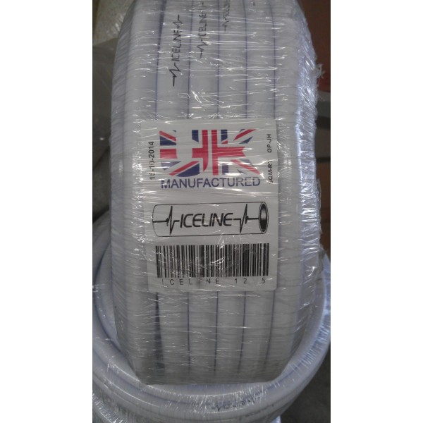 13 mm Panda hose white soft poly 10M roll